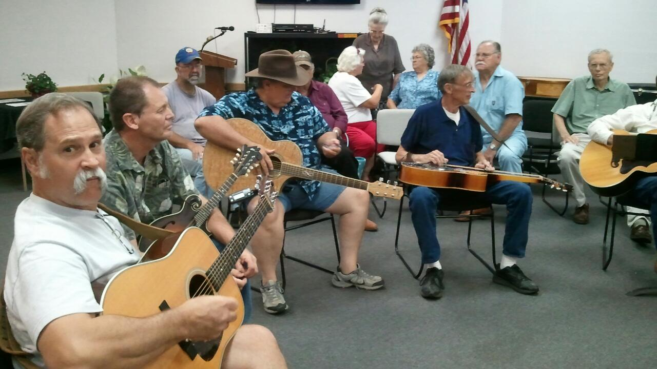 Bluegrass Jam May 2012