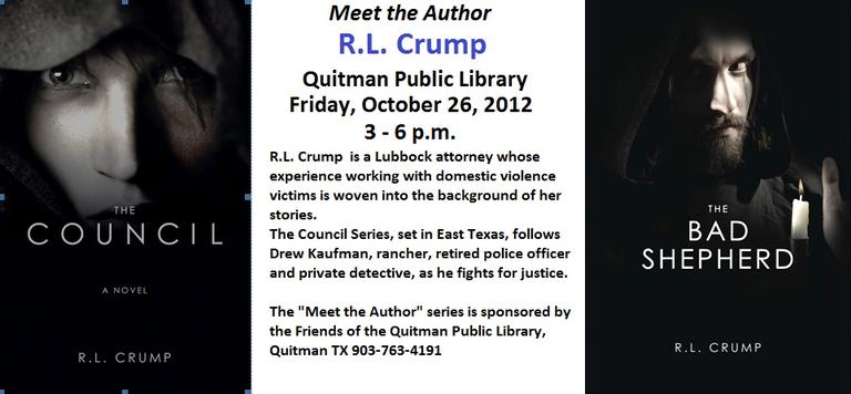 Meet the Author - R.L. Crump