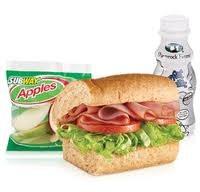 Subway kid meal