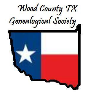 Wood County TX Genealogical Society Logo